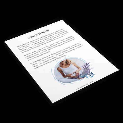 Mock up elementów ebooka Ciąża łaskawa dla kręgosłupa